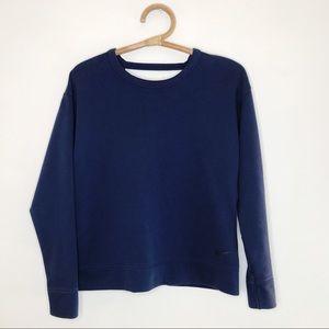NIKE Women's Dri-Fit Open Back Sweater Pullover XS